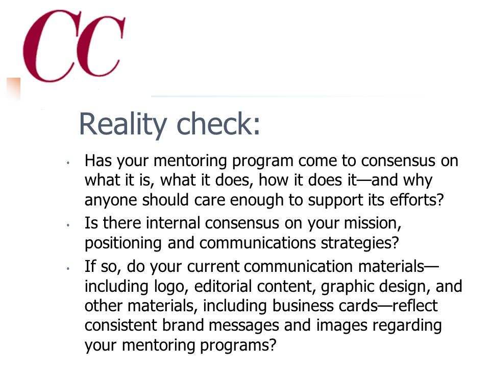 Step #1 Defining your brand: A reality check
