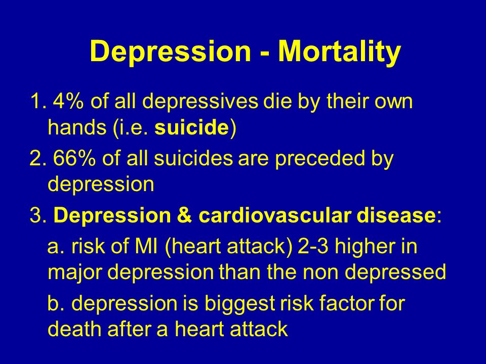 Causes of Depression – Brain Chemical Changes