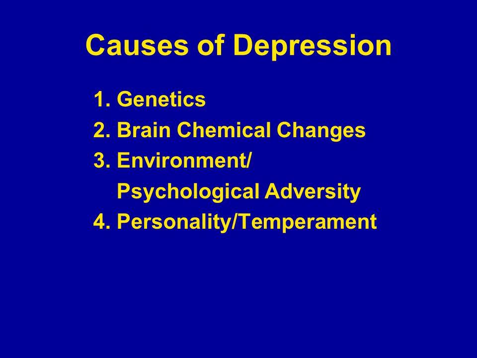 Causes of Depression - Genetics 1.
