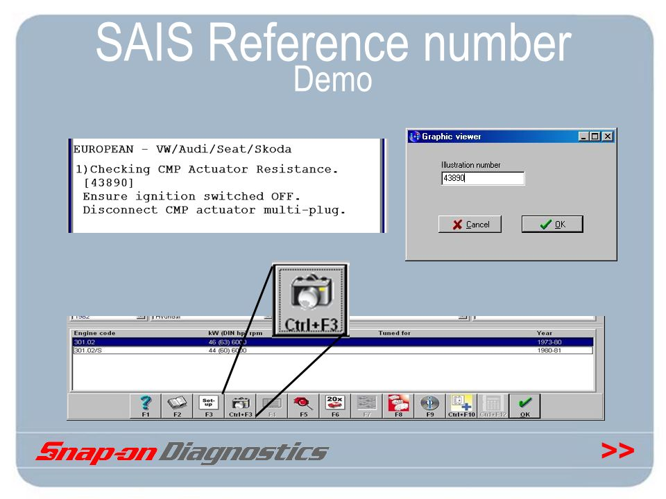 >> SAIS Reference number Demo