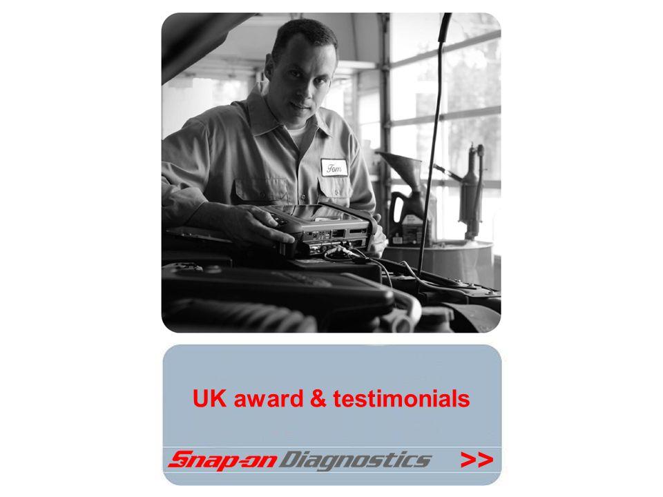 >> UK award & testimonials