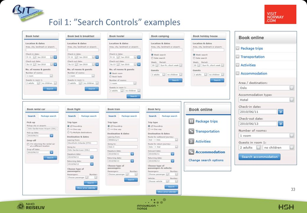 33 Foil 1: Search Controls examples