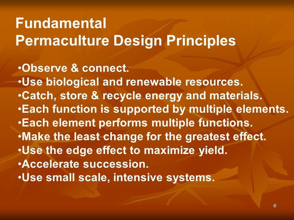 7 Very Simply Put… Permaculture is a design system whereby we find ways of living to allow for permanent cultures to exist.