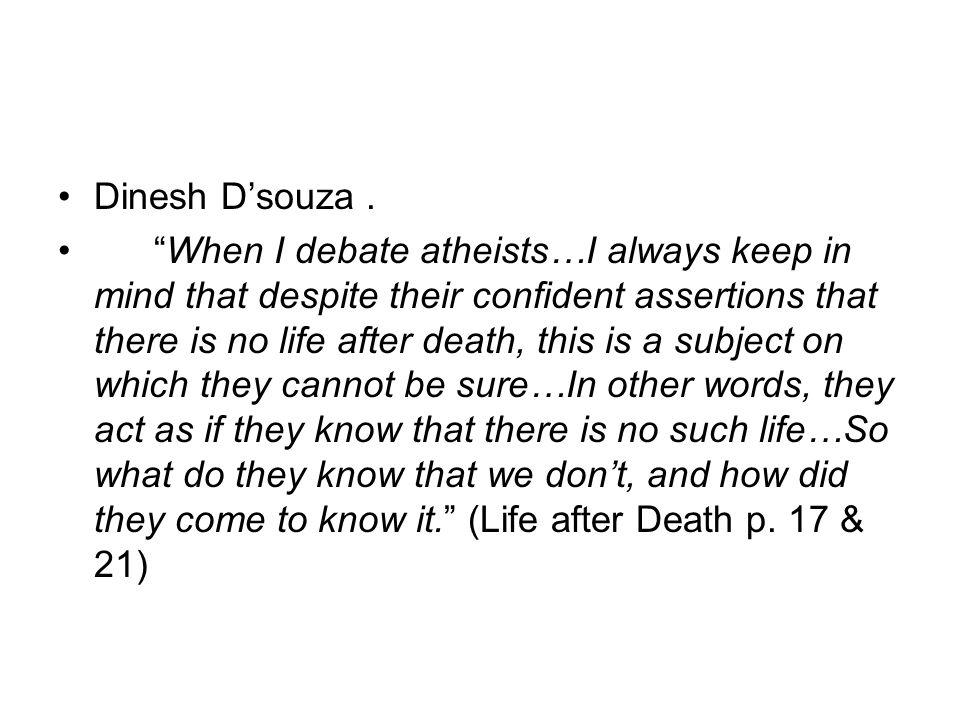 Dinesh Dsouza.