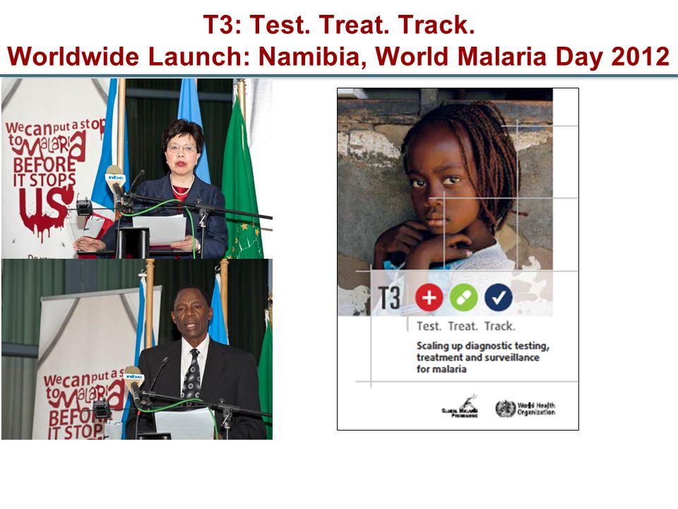 T3: Test. Treat. Track. Worldwide Launch: Namibia, World Malaria Day 2012