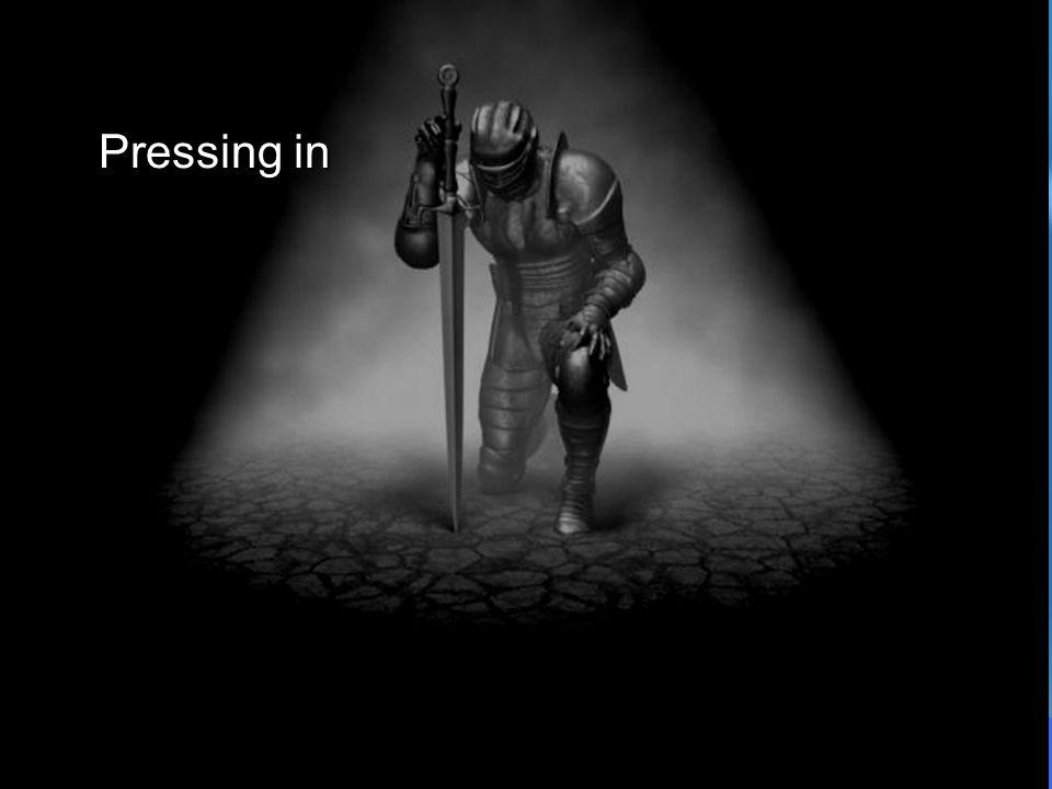 Pressing in