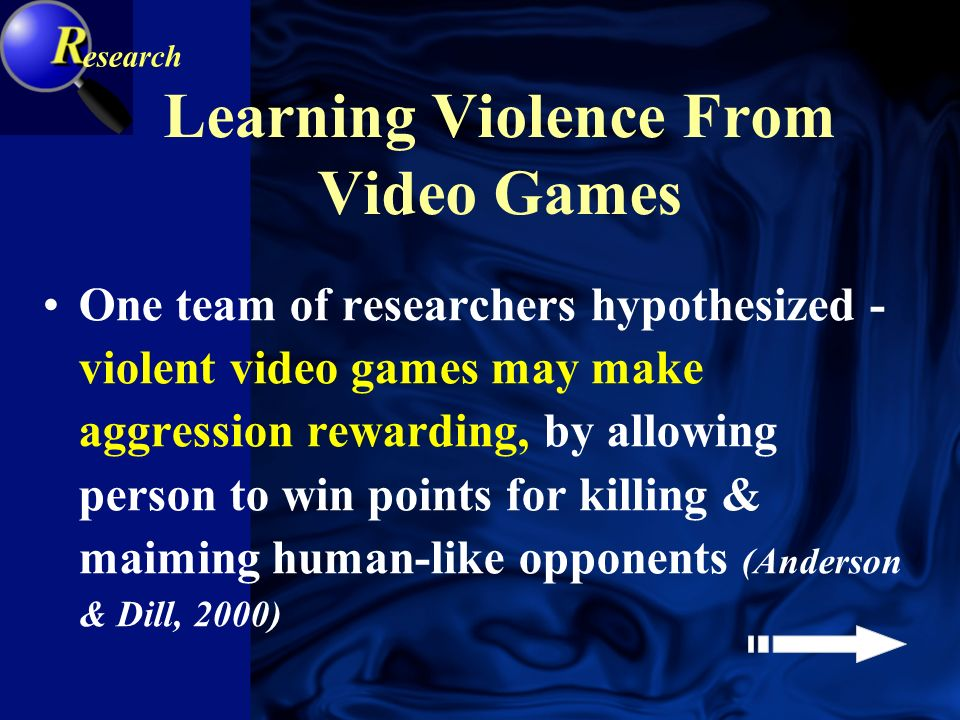 Space Blaster Doomsday Version 2.5 Does playing violent video games increase aggressiveness?