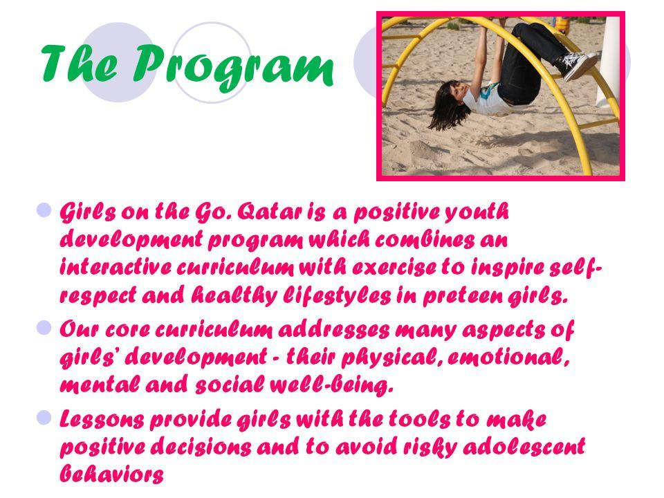 The Program Girls on the Go.