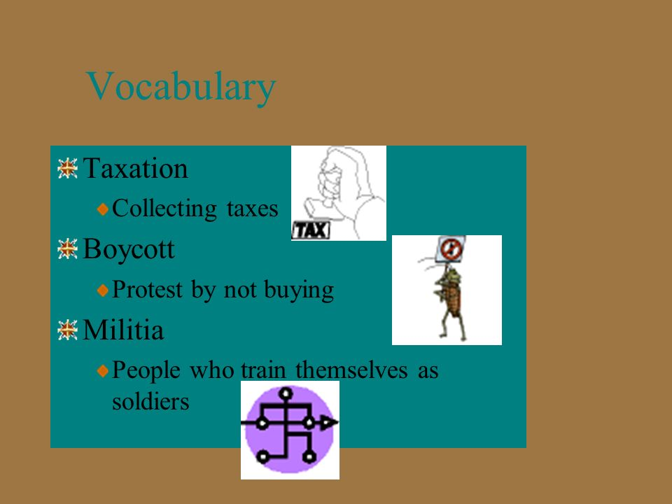 Vocabulary Surrender Means to give up Treaty Agreement Ally Friend Frontier Area that has not been settled