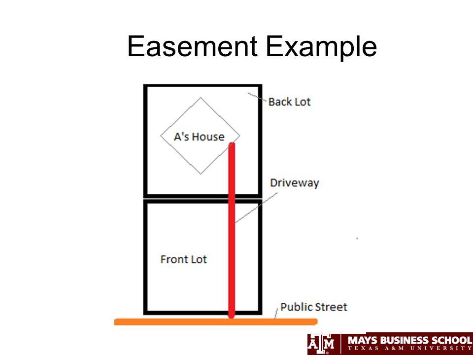 Easement Example