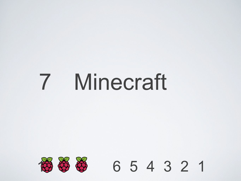 7 Minecraft 1234568910