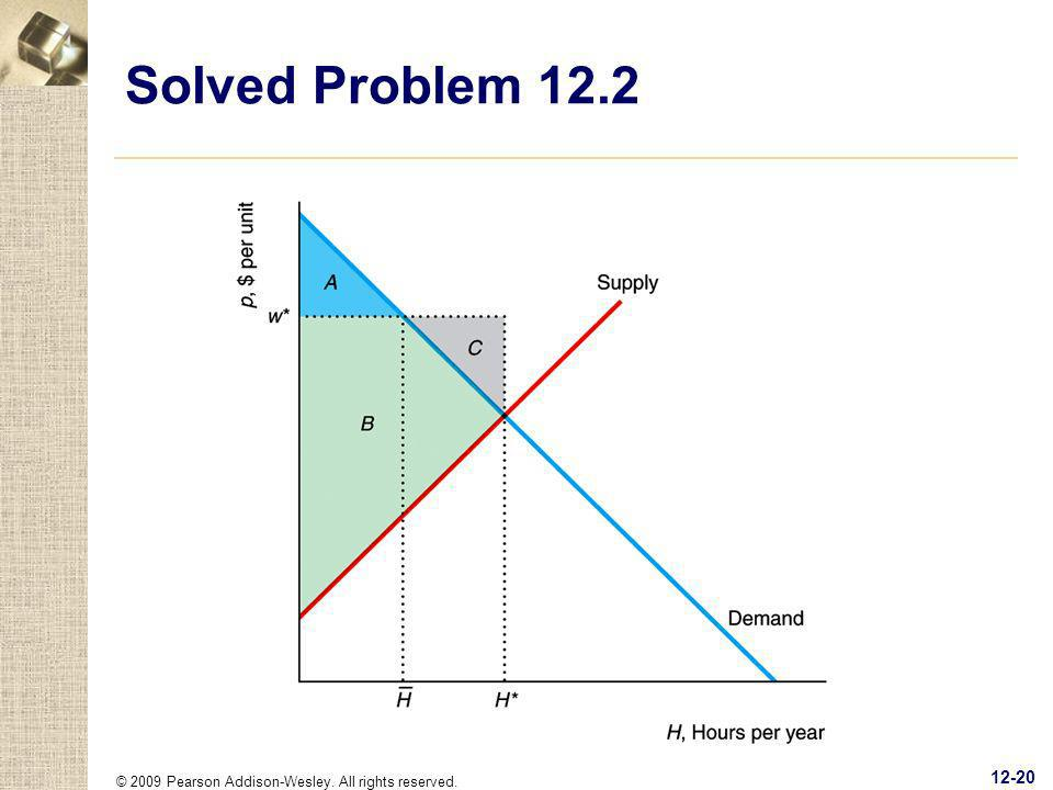 © 2009 Pearson Addison-Wesley. All rights reserved. 12-20 Solved Problem 12.2