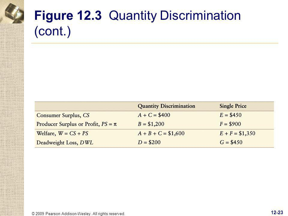 © 2009 Pearson Addison-Wesley. All rights reserved. 12-23 Figure 12.3 Quantity Discrimination (cont.)
