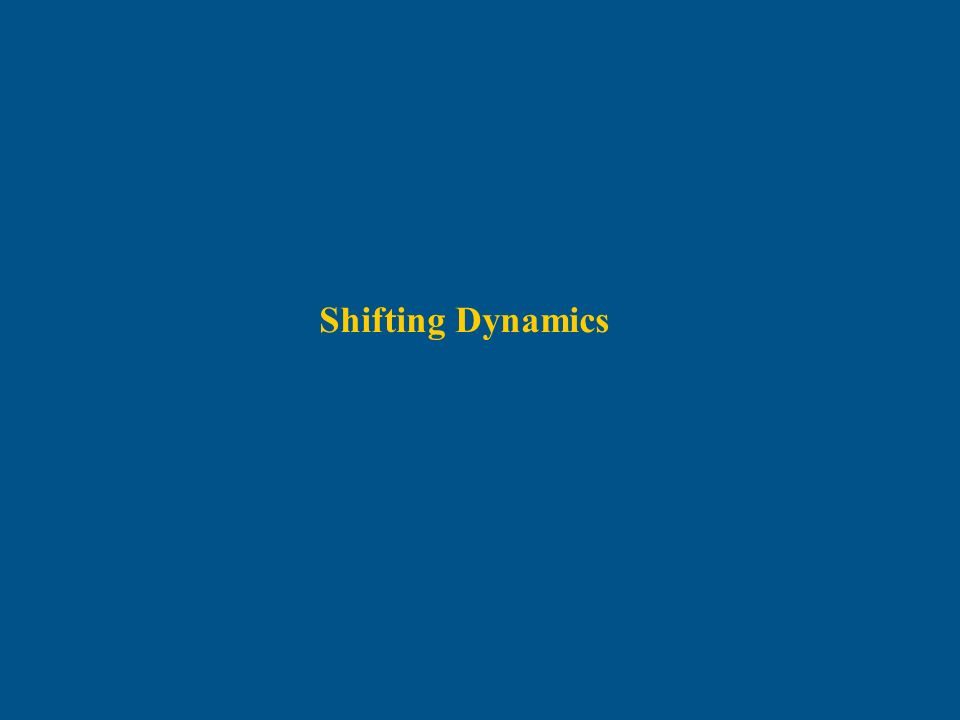 Shifting Dynamics