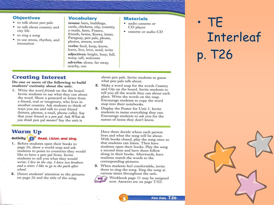 TE Interleaf p. T26