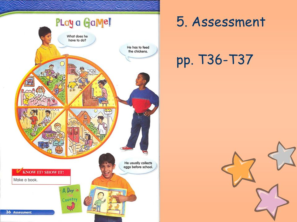 5. Assessment pp. T36-T37