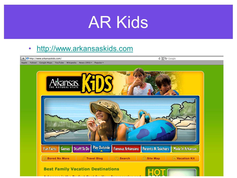 AR Kids http://www.arkansaskids.com
