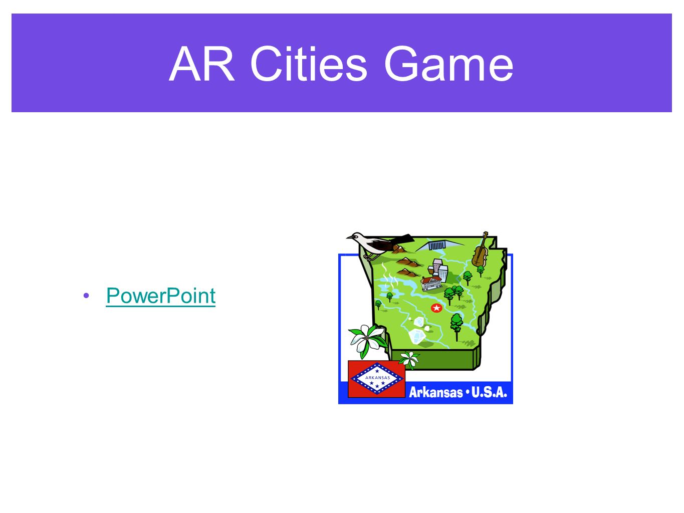 AR Cities Game PowerPoint