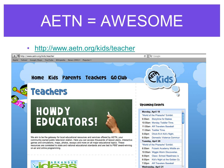 AETN = AWESOME http://www.aetn.org/kids/teacher