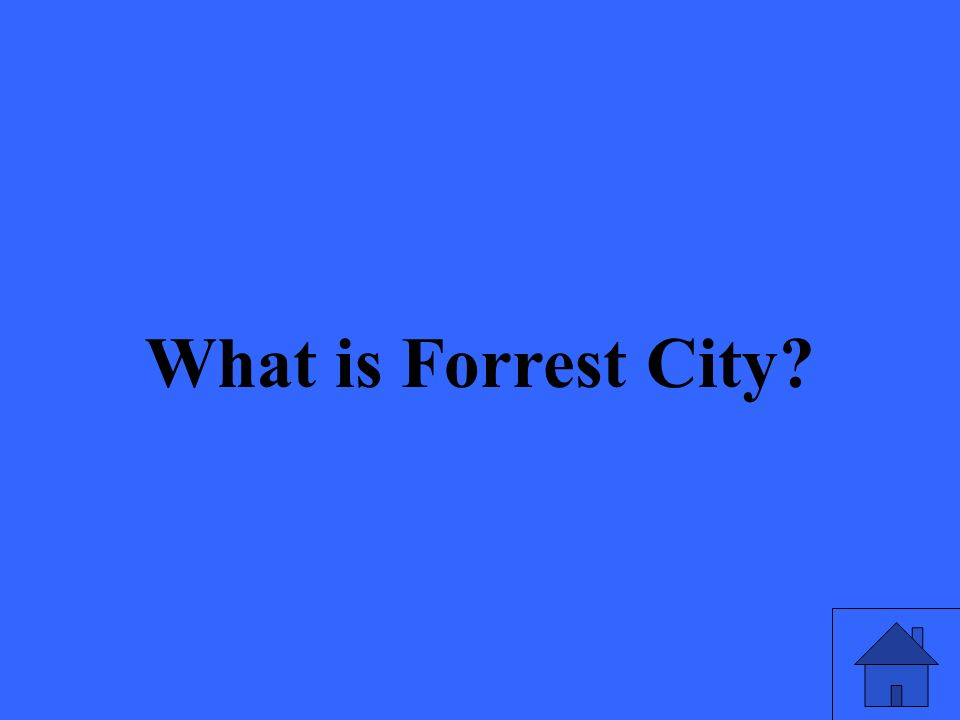 What is Forrest City?