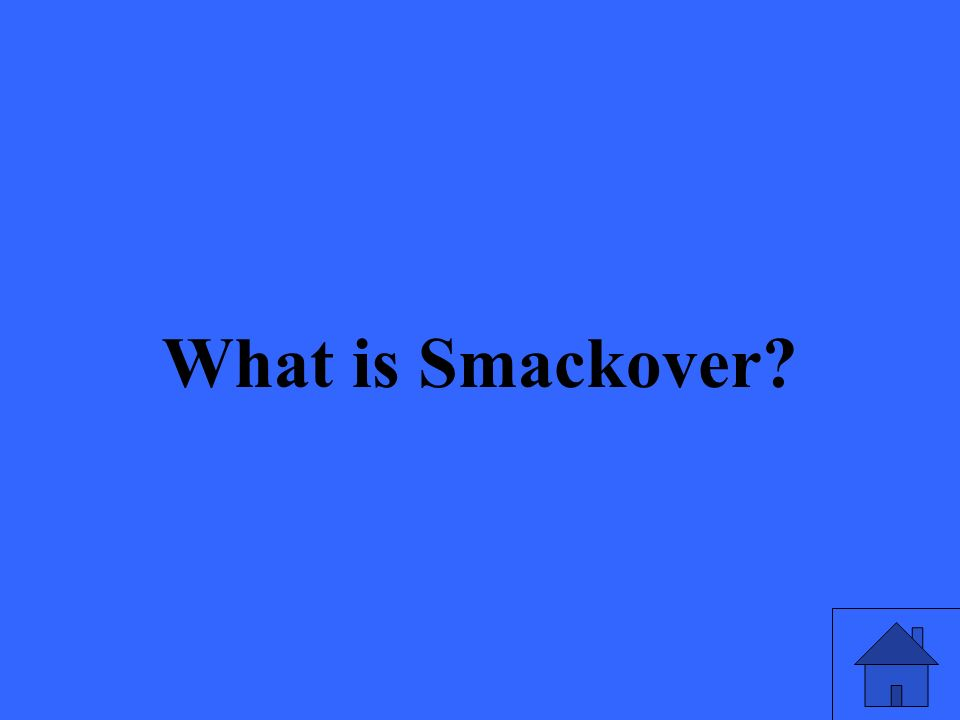 What is Smackover?