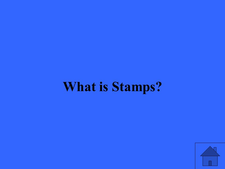 What is Stamps?