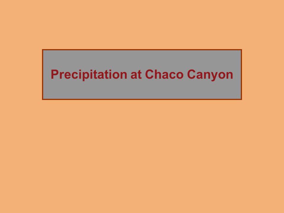 The Rise of Chaco Canyon Precipitation at Chaco Canyon