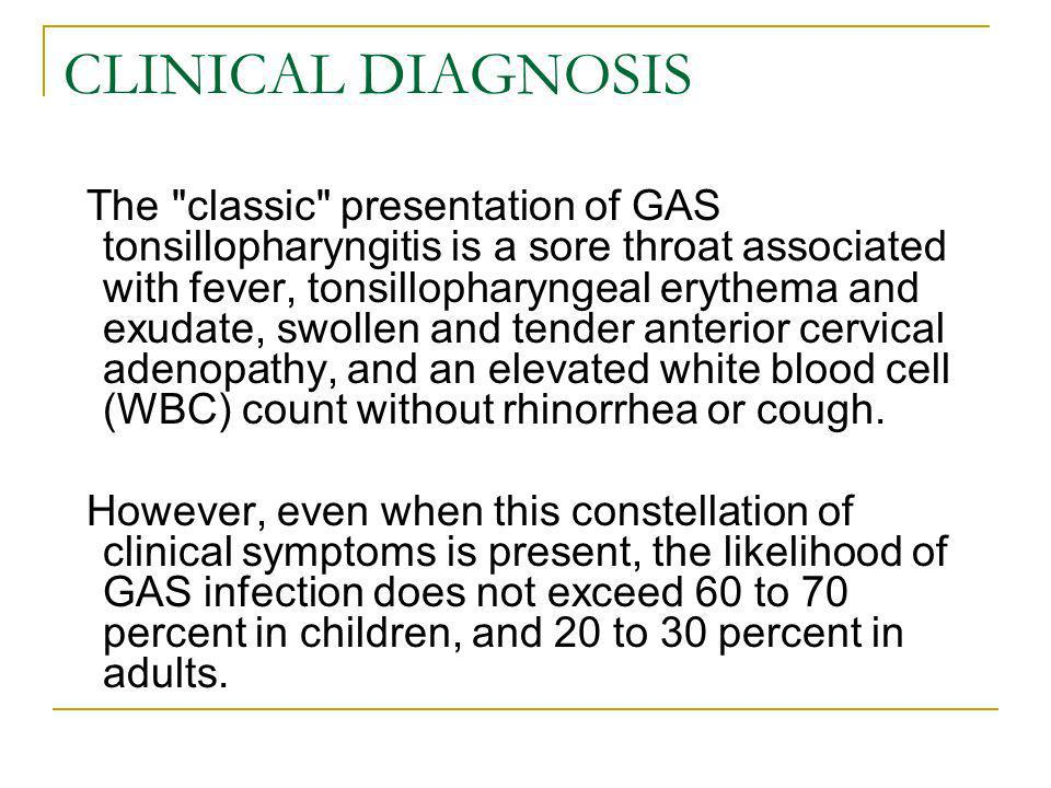 CLINICAL DIAGNOSIS The