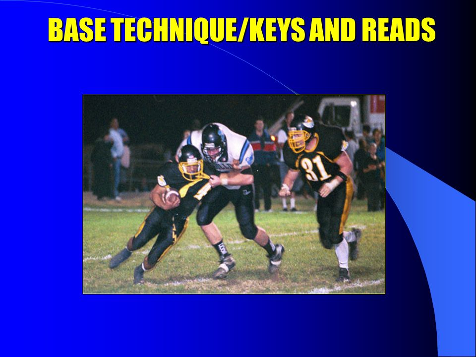BASE TECHNIQUE/KEYS AND READS