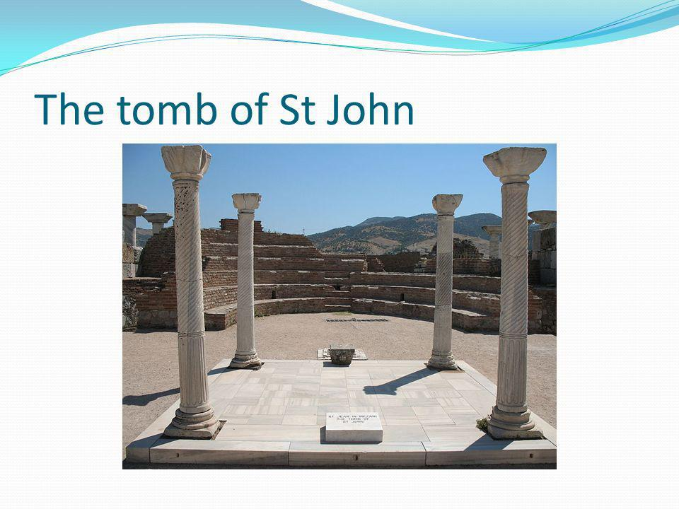 The tomb of St John