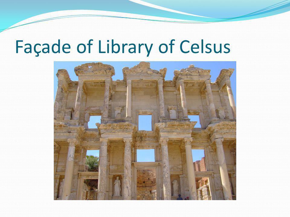 Theatre at Ephesus – holds 25,000