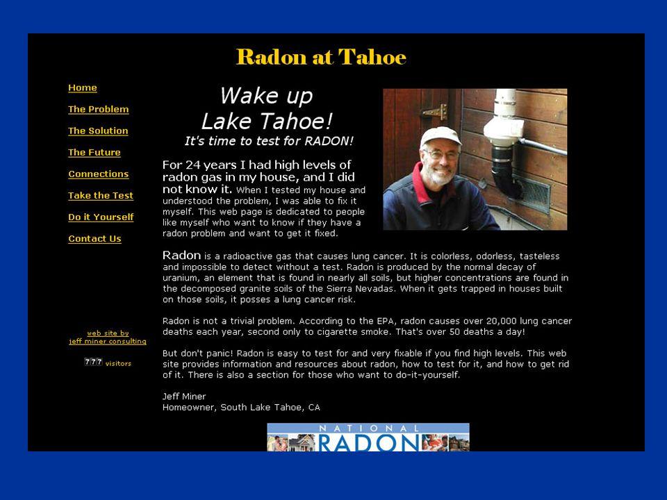 Radon Ready New Construction – RRNC On Slab Foundation