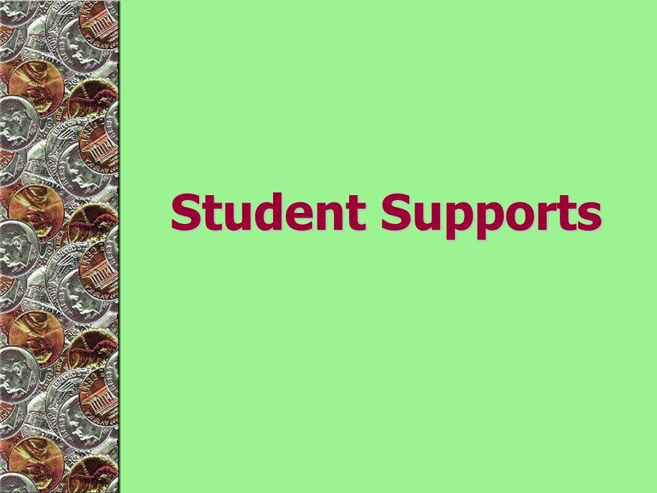 Student Supports