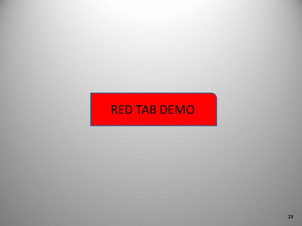 RED TAB DEMO 23