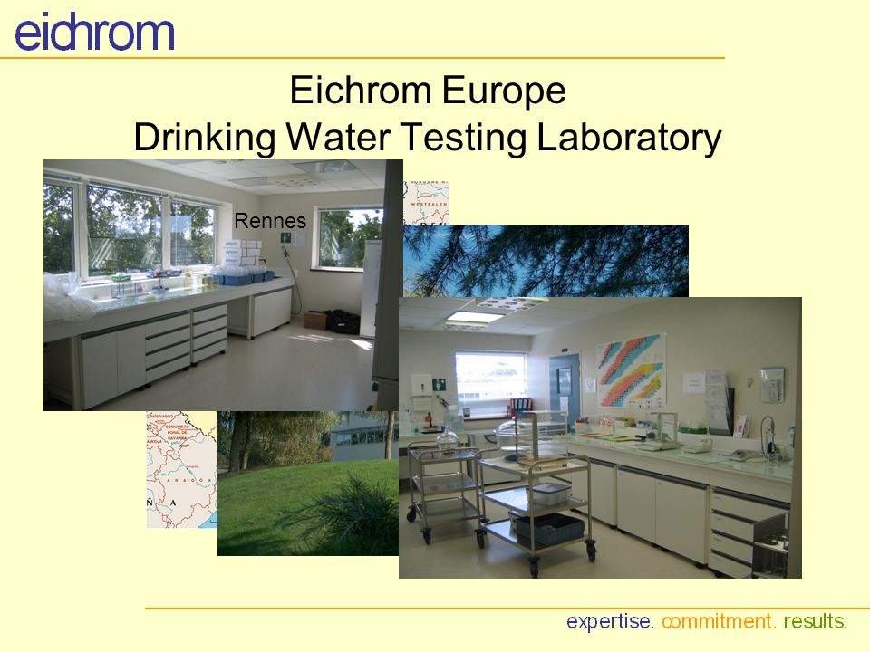 Eichrom Europe Drinking Water Testing Laboratory Rennes
