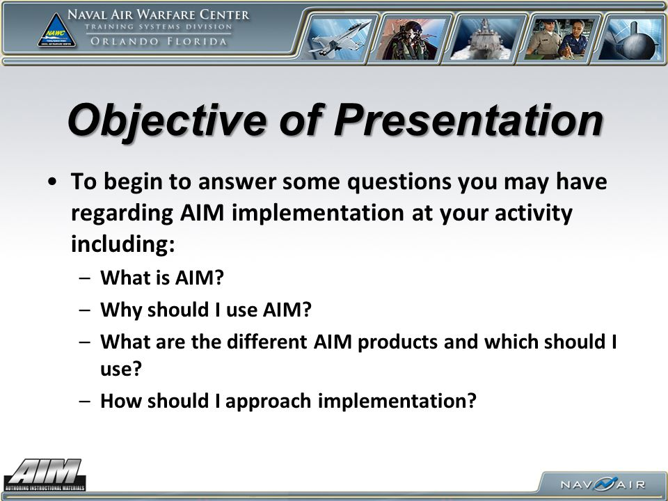 What is AIM.