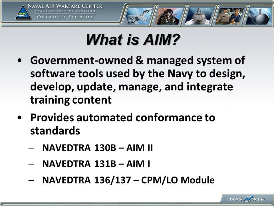Why should I Use AIM.