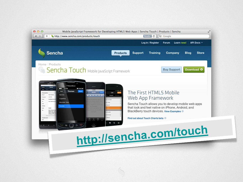 http://sencha.com/touch