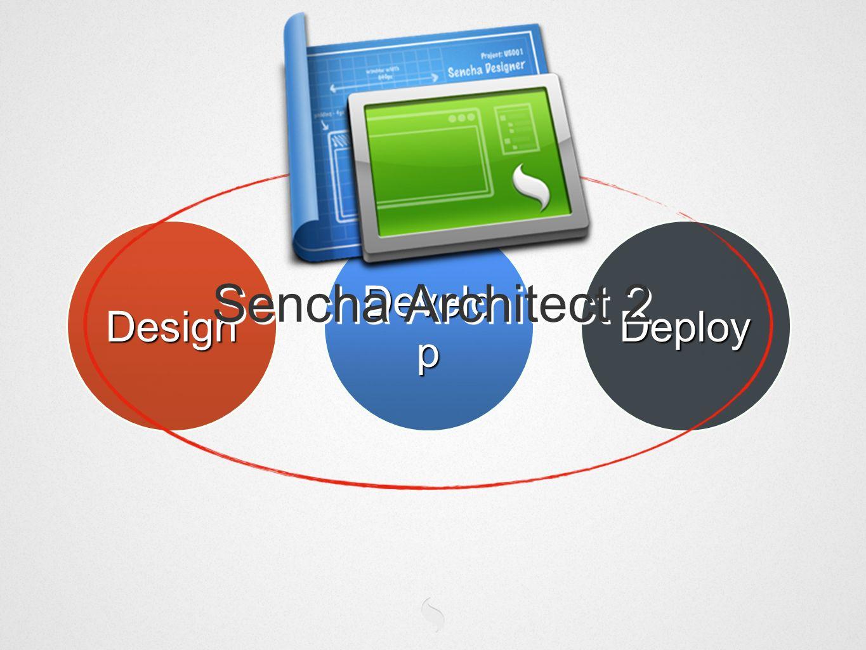 Design Develo p Deploy Sencha Architect 2