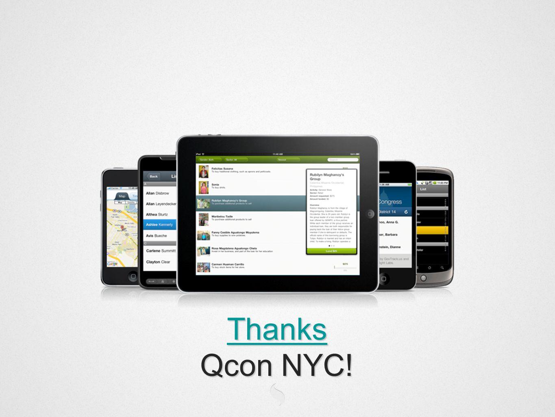 Thanks Qcon NYC!