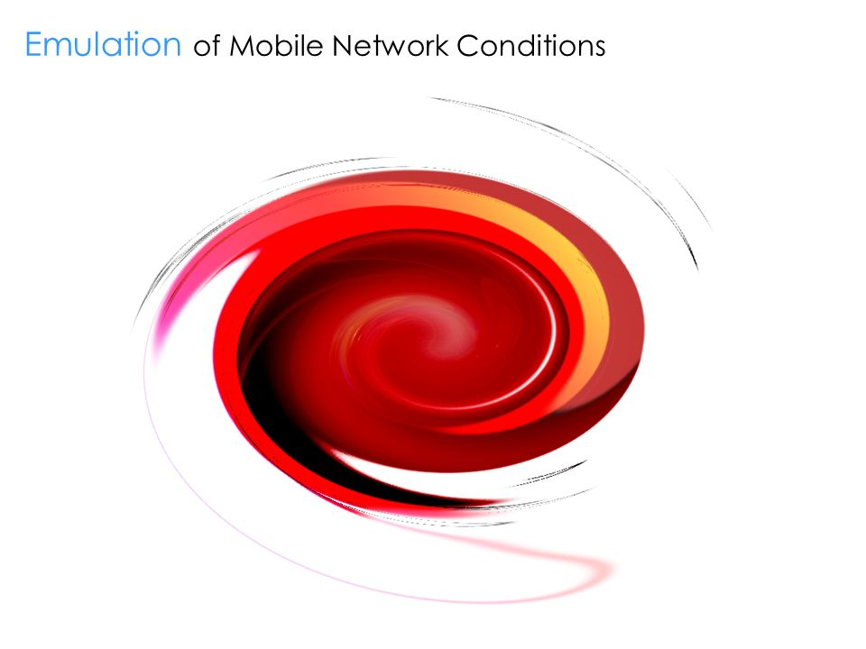 Emulation of Mobile Network Conditions