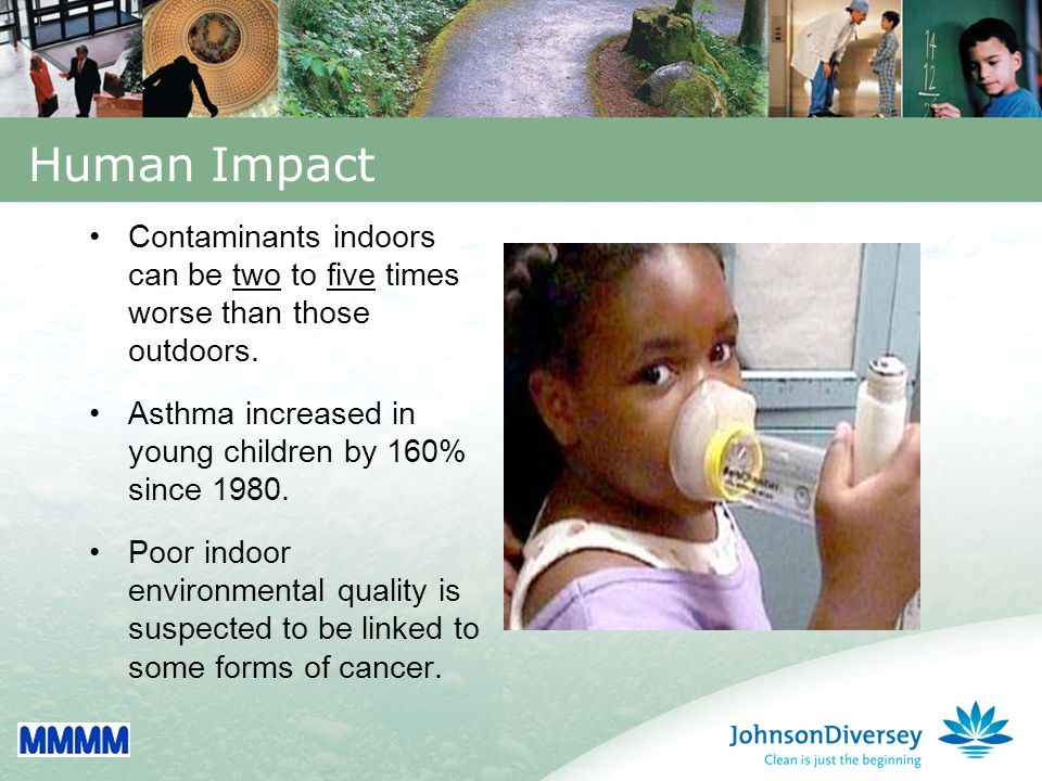 5 Impact of Commercial Buildings Buildings consume: 40% of total energy 65% of total electricity 30% of raw materials 12% of potable water Buildings consume: 40% of total energy 65% of total electricity 30% of raw materials 12% of potable water Cleaning buildings require: 5 billion pounds of chemicals 4.5 billion pounds of paper 36 billion plastic trash liners 20 million vacuum cleaners Cleaning buildings require: 5 billion pounds of chemicals 4.5 billion pounds of paper 36 billion plastic trash liners 20 million vacuum cleaners