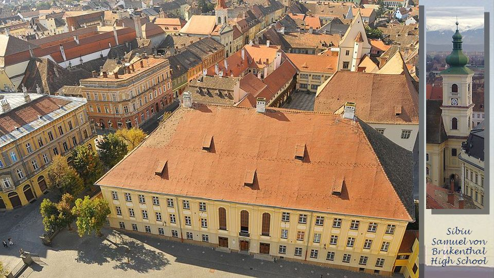 Sibiu Samuel von Brukenthal High School