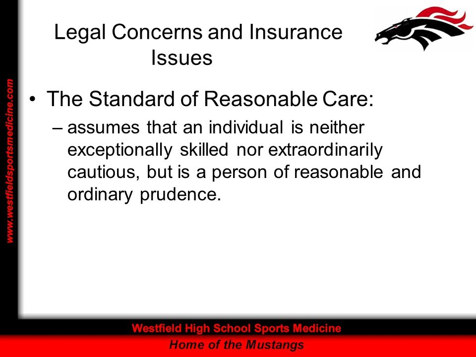 Legal Concerns and Insurance Issues Common Terminology –Allowable Charge –Beneficiary –Benefits –Claim