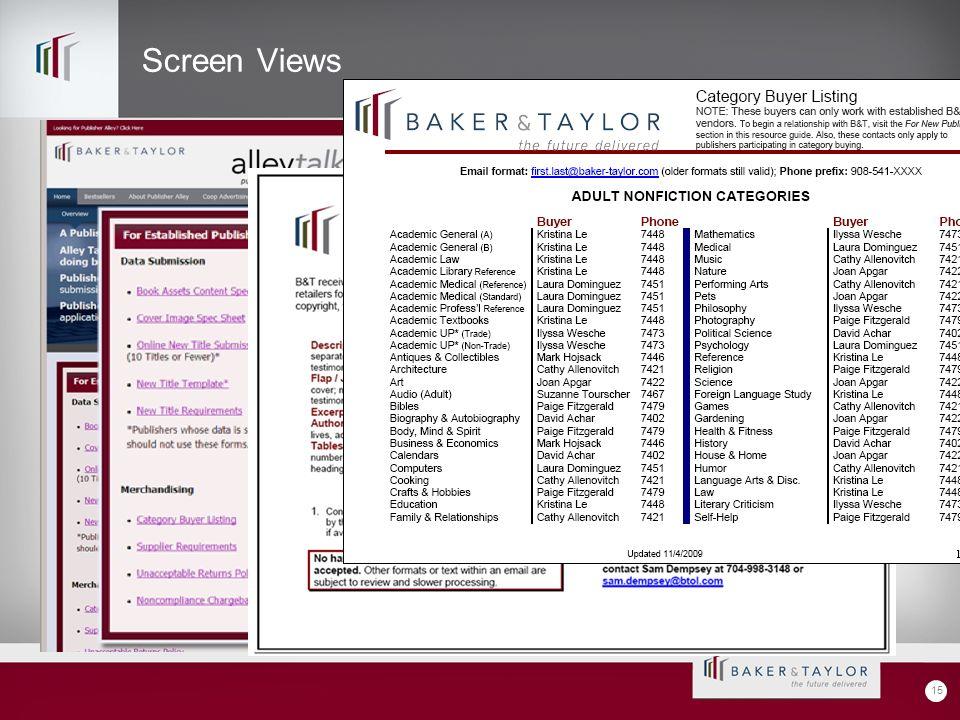 Screen Views 15