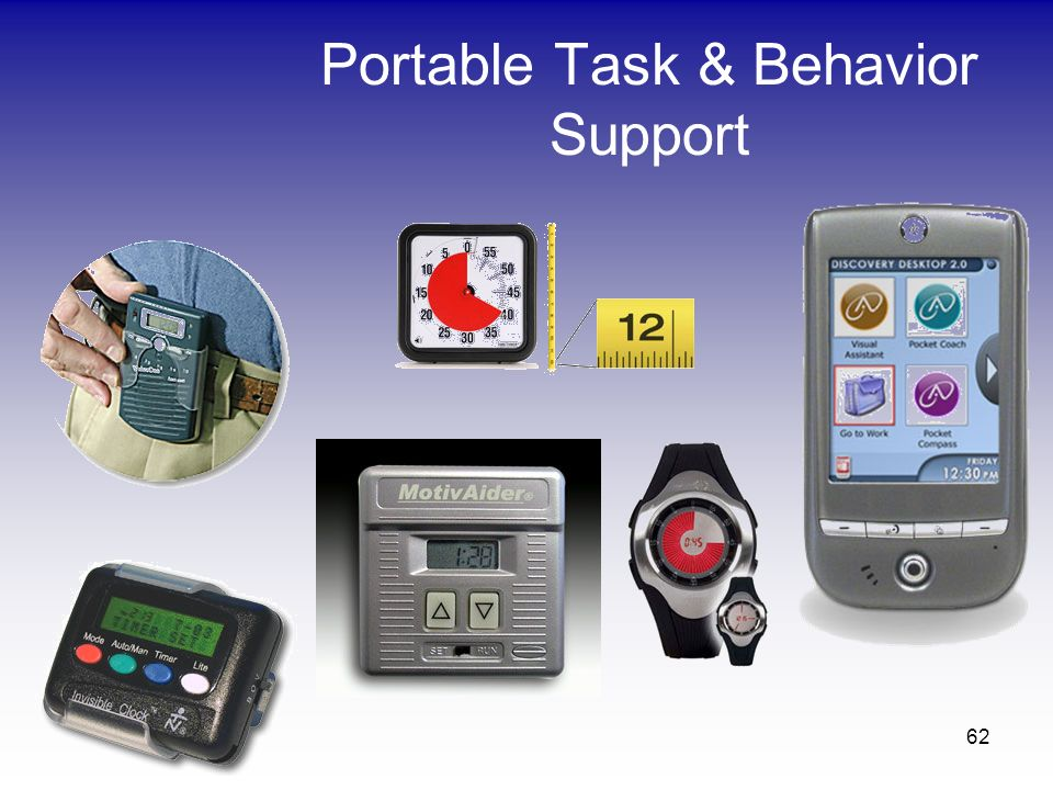 62 Portable Task & Behavior Support
