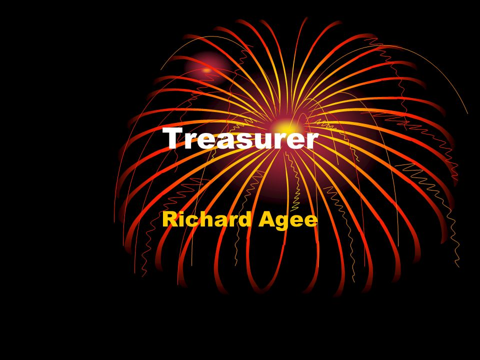 Treasurer Richard Agee
