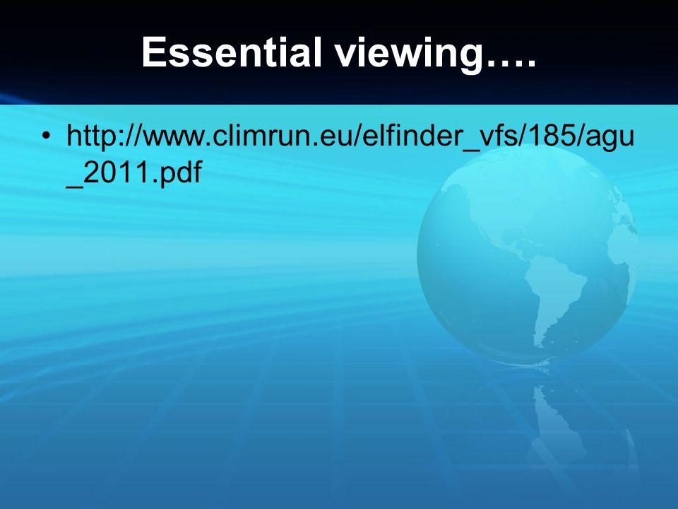 Essential viewing…. http://www.climrun.eu/elfinder_vfs/185/agu _2011.pdf