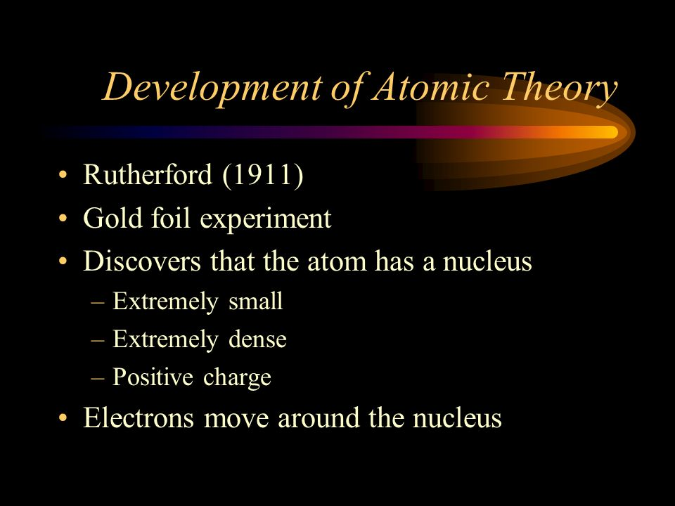 Development of Atomic Theory J.J.