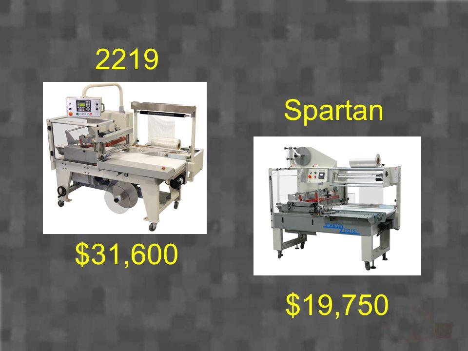 Spartan $19,750 2219 $31,600